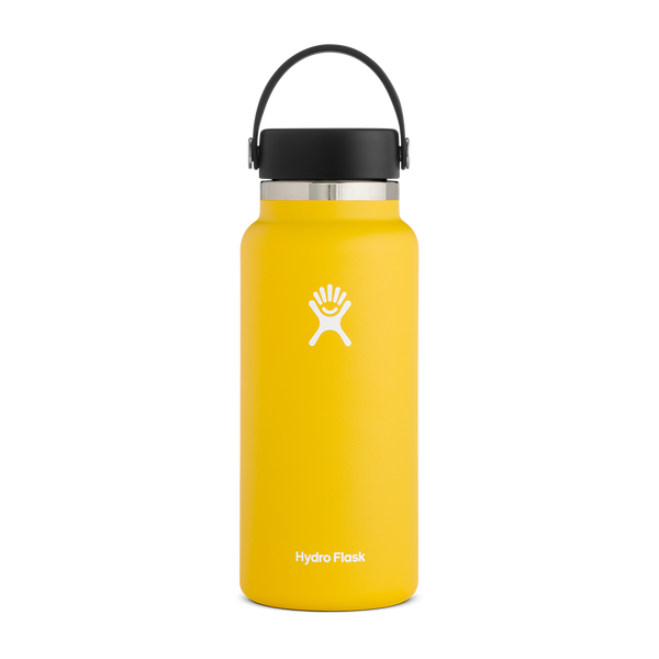 Hydro Flask 32 oz. Wide Mouth Sunflower