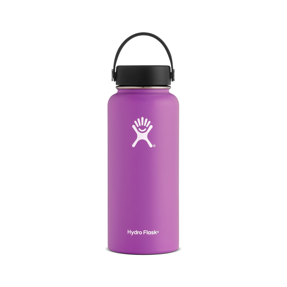 Hydro Flask 32oz Wide Mouth Raspberry
