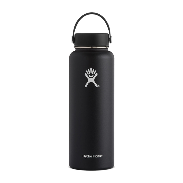 Hydro Flask 40oz Wide Mouth Black