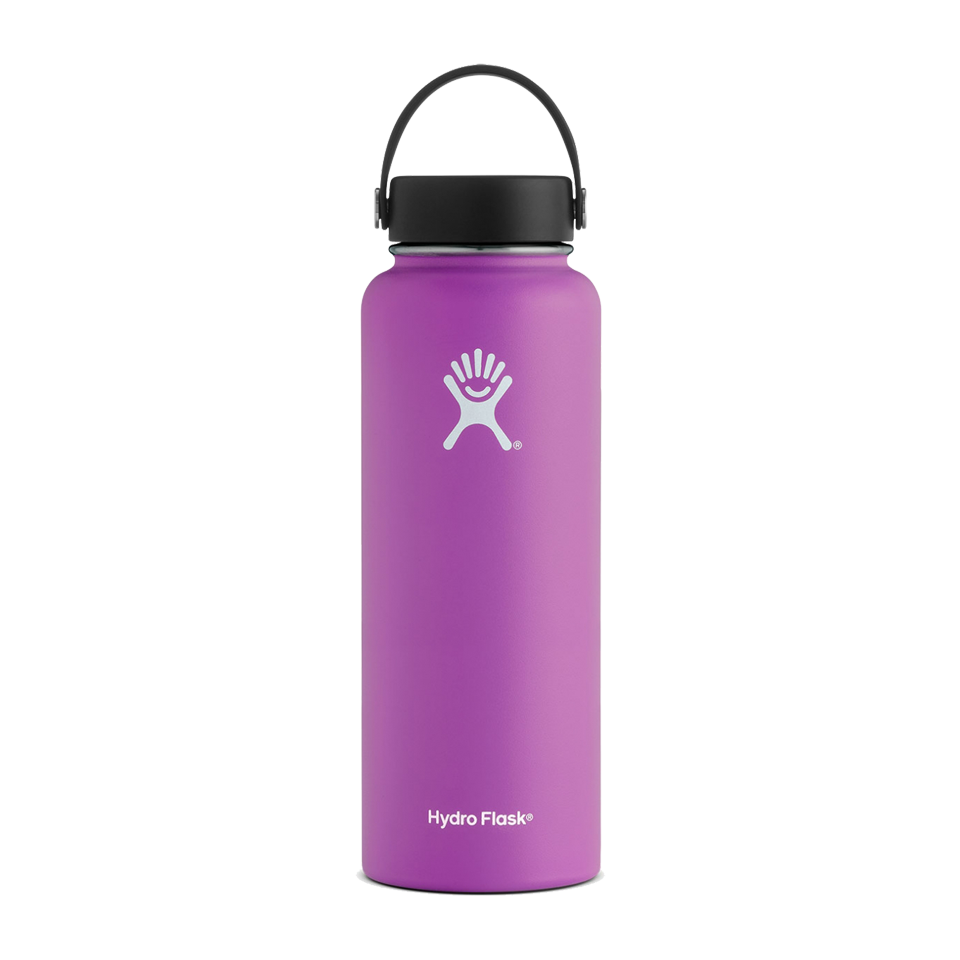Hydro Flask 40oz Wide Mouth Raspberry