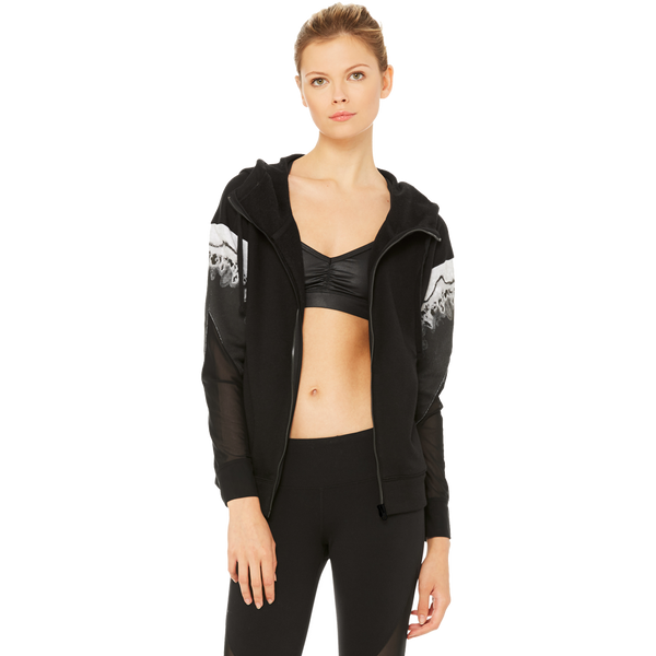Alo Women's Verse Jacket Black Zinc