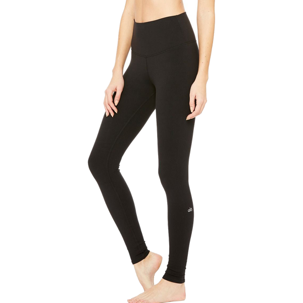 Alo Yoga Women's High Waist Airbrush Legging Black