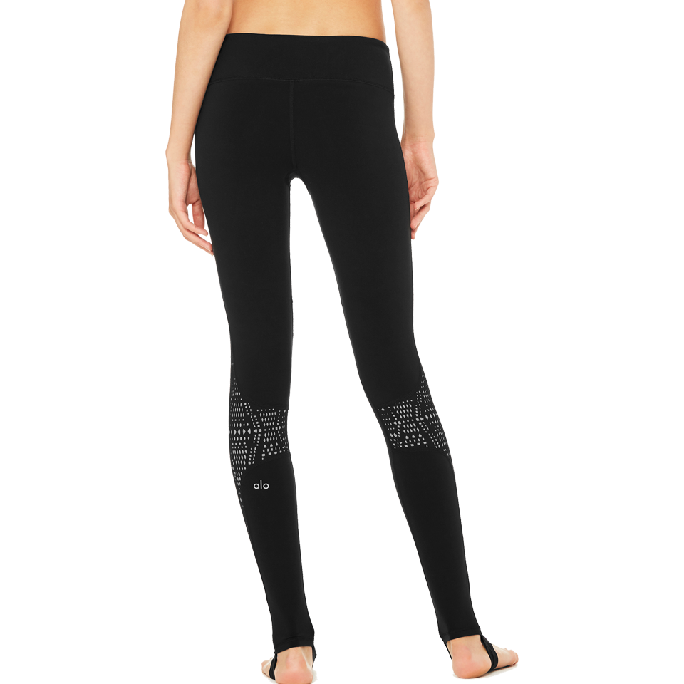 Alo Women's West Coast Legging Black/Buff