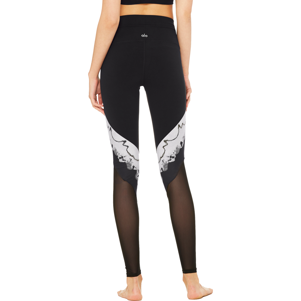Alo Women's High-Waist Verse Legging Black Zinc