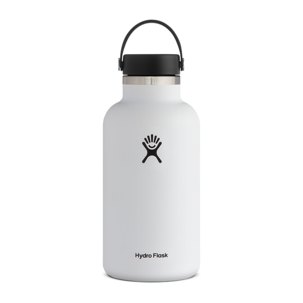 Hydro Flask 64 oz. Wide Mouth White