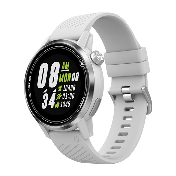 COROS APEX Premium Multisport GPS Watch 42 mm White/Silver