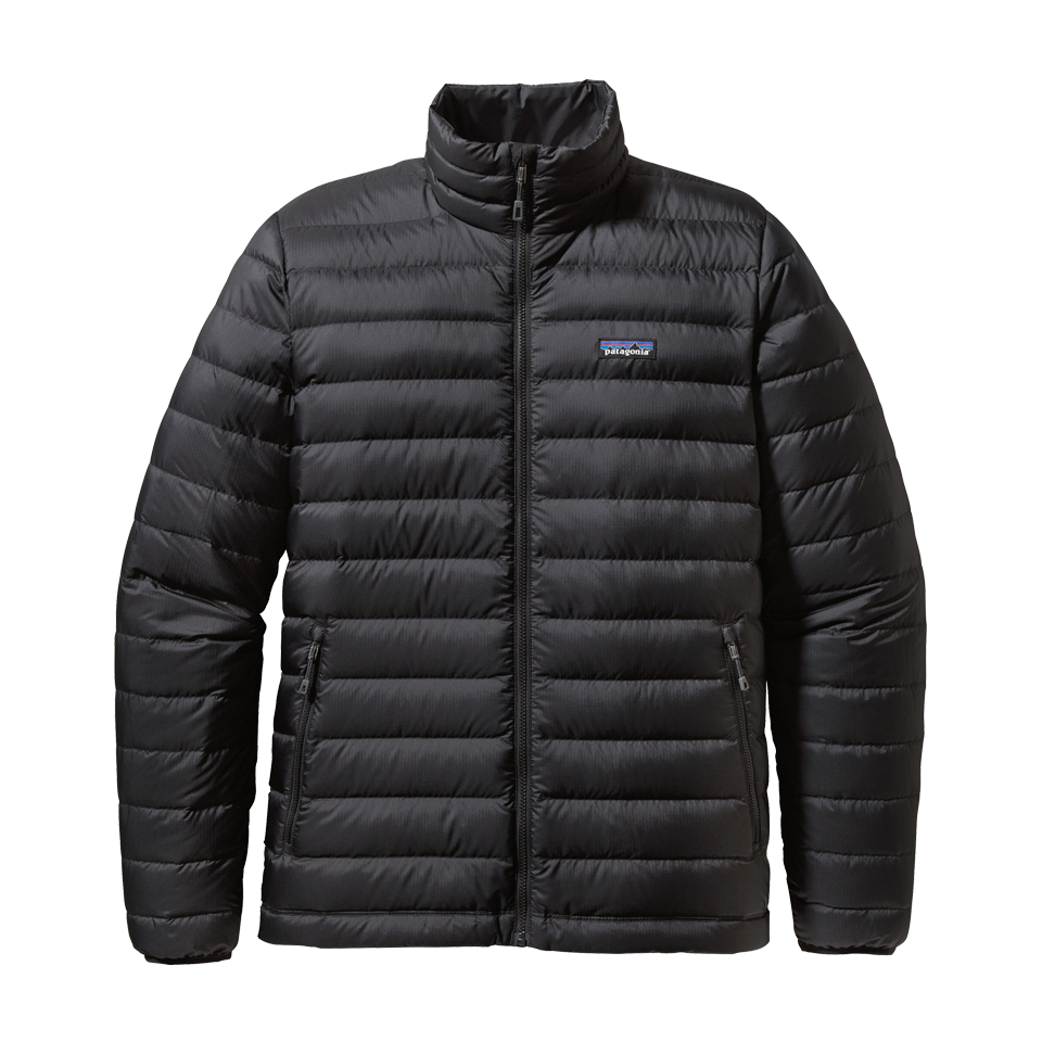 Patagonia Men's Down Sweater Jacket Black