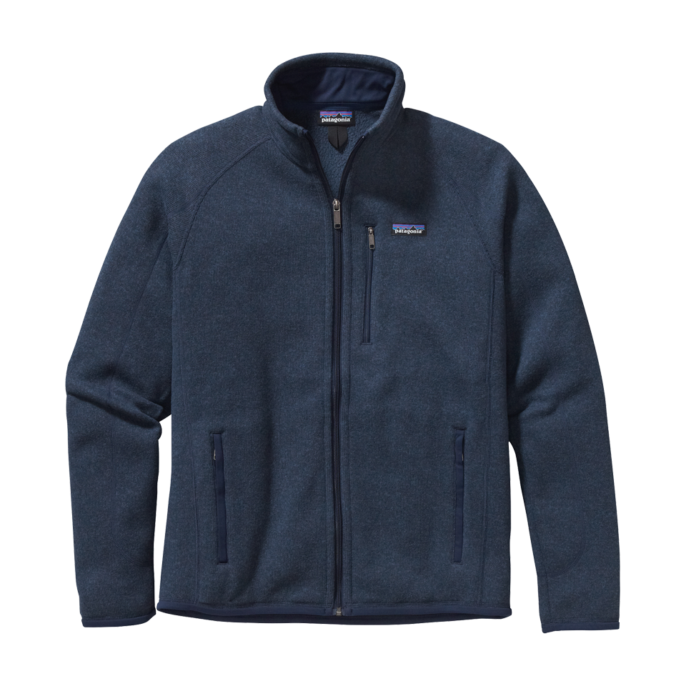 Patagonia Men's Better Sweater Jacket Classic Navy