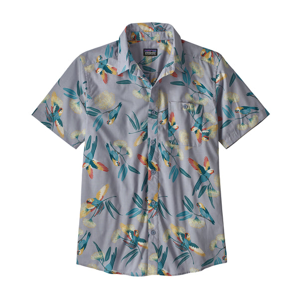 Patagonia Men's Go To Shirt Parrots: Ghost Purple