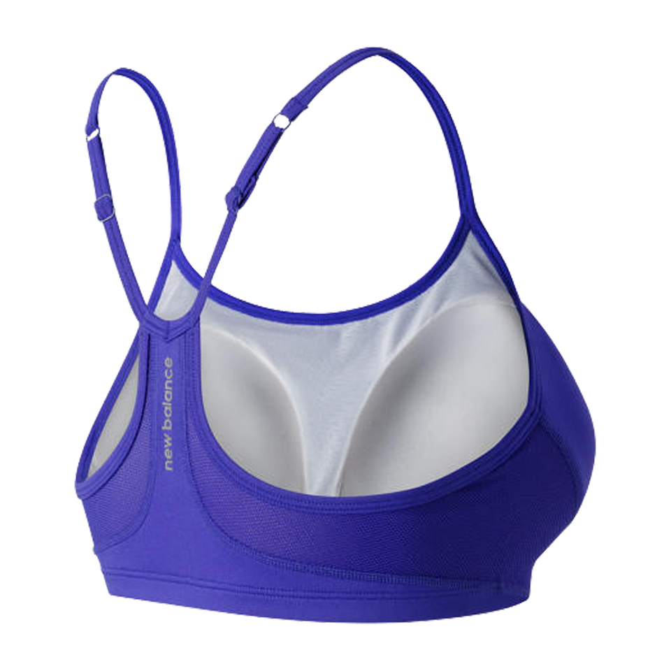 New Balance Women's Tenderly Obsessive Bra Spectral Purple