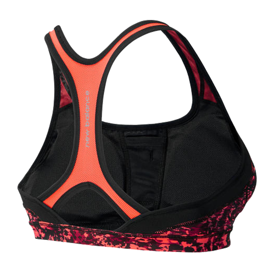 New Balance Women's The Print Shapely Shaper Bra