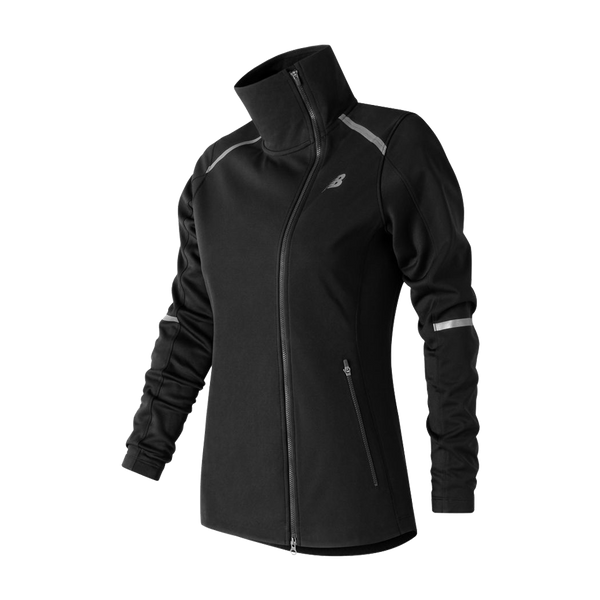 New Balance Women's Windblocker Jacket Black