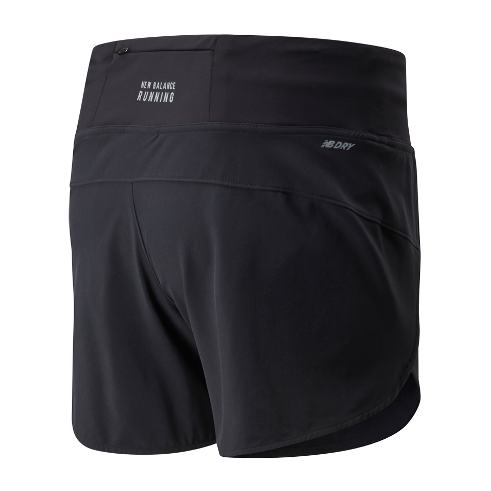 "New Balance Women's Impact 5"" Run Short Black"