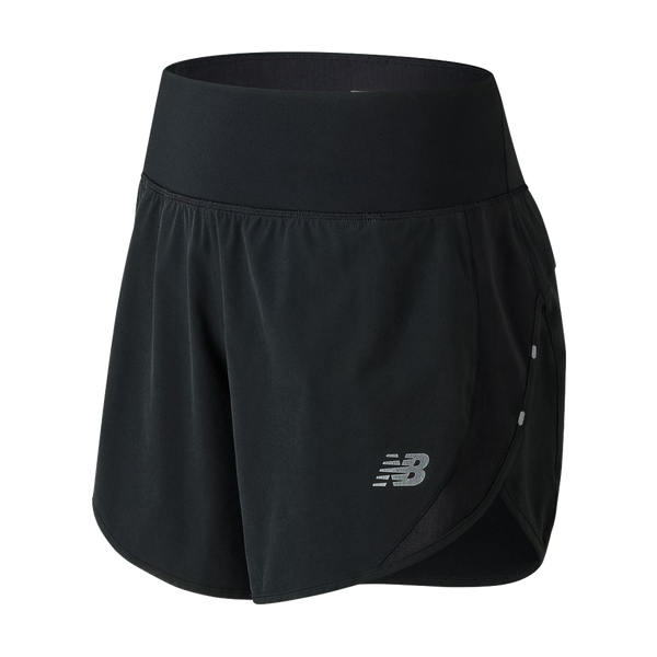 "New Balance Women's 5"" Impact Short Black"