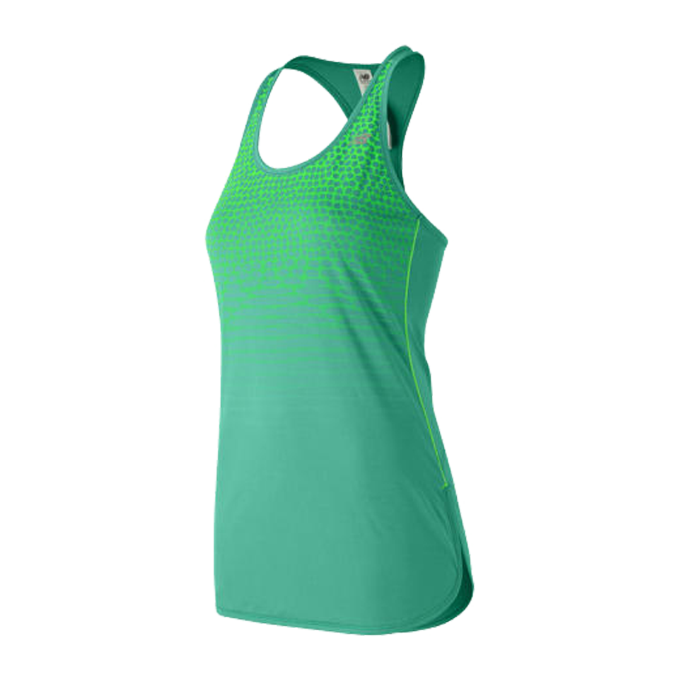 New Balance Women's Accelerate Tunic Graphic Reef Green