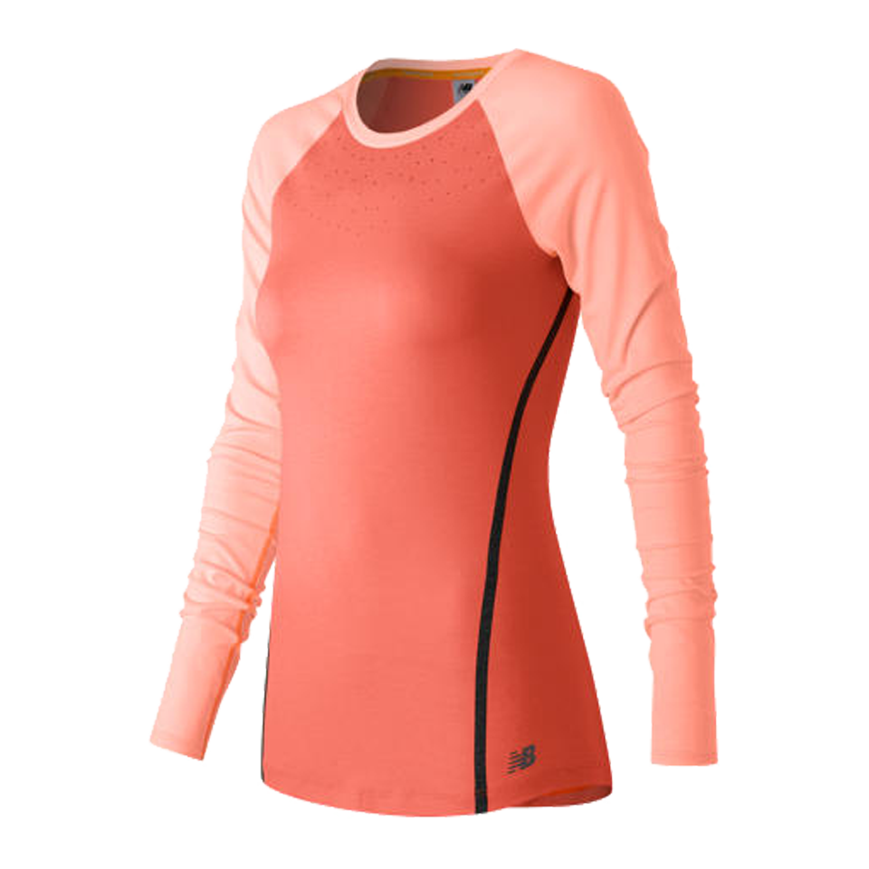 New Balance Women's Trinamic Longsleeve Top Dragonfly