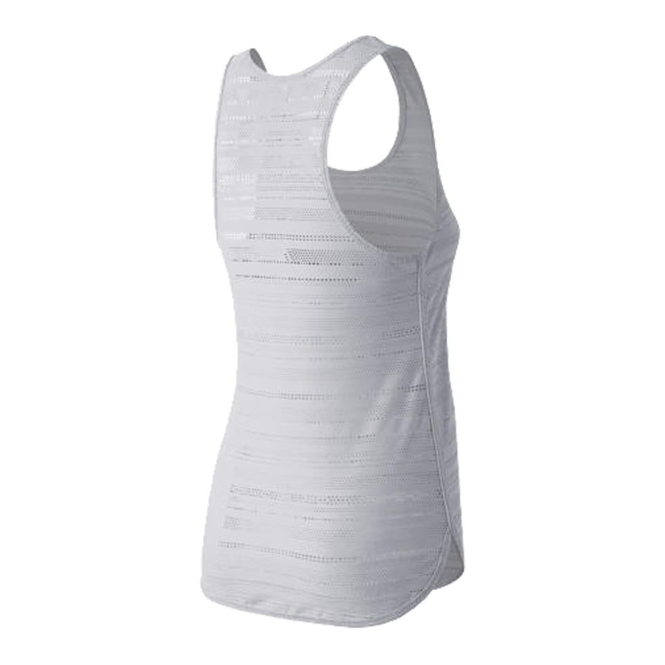New Balance Women's Mesh Tank White