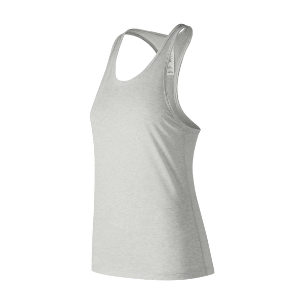 New Balance Women's Heather Tech Tank Sea Salt Heather