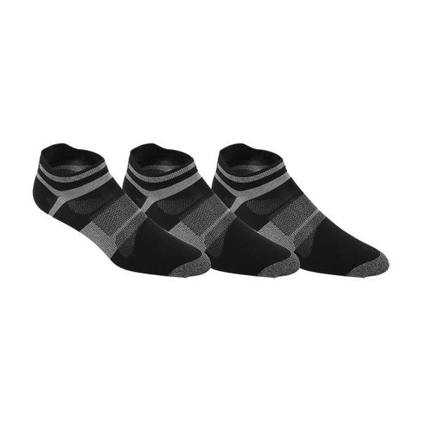 Asics Men's Quick Lyte Single Tab Socks Black/Grey Heather