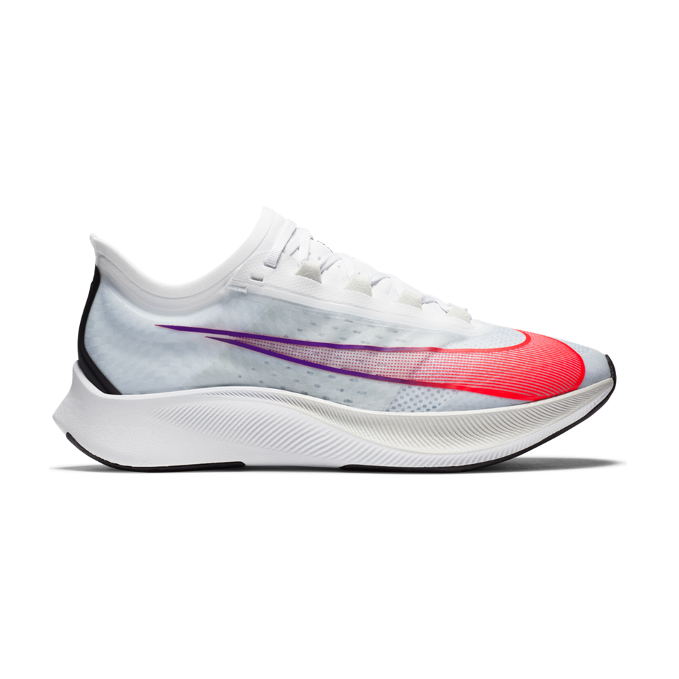 Nike Men's Zoom Fly 3 White/Flash Crimson