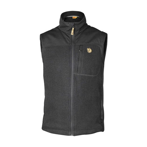 Fjallraven Men's Buck Fleece Vest Graphite