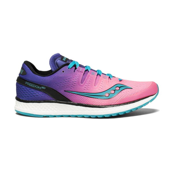 Saucony Women's Freedom ISO Pink/Purple