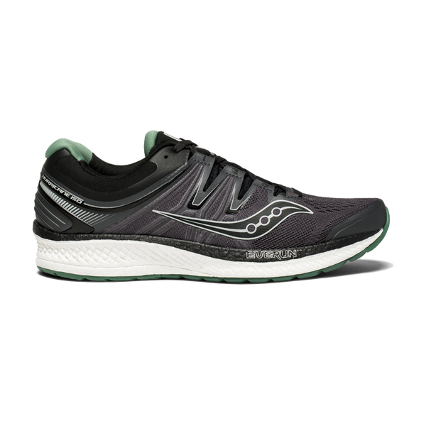 Saucony Men's Hurricane ISO 4 Black/Grey