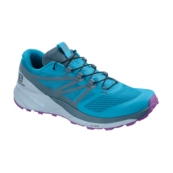 Salomon Women's Sense Ride 2 Cyan Blue