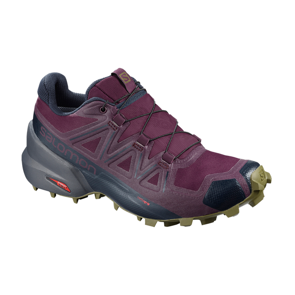Salomon Women's Speedcross 5 Potent Purple/Ebony