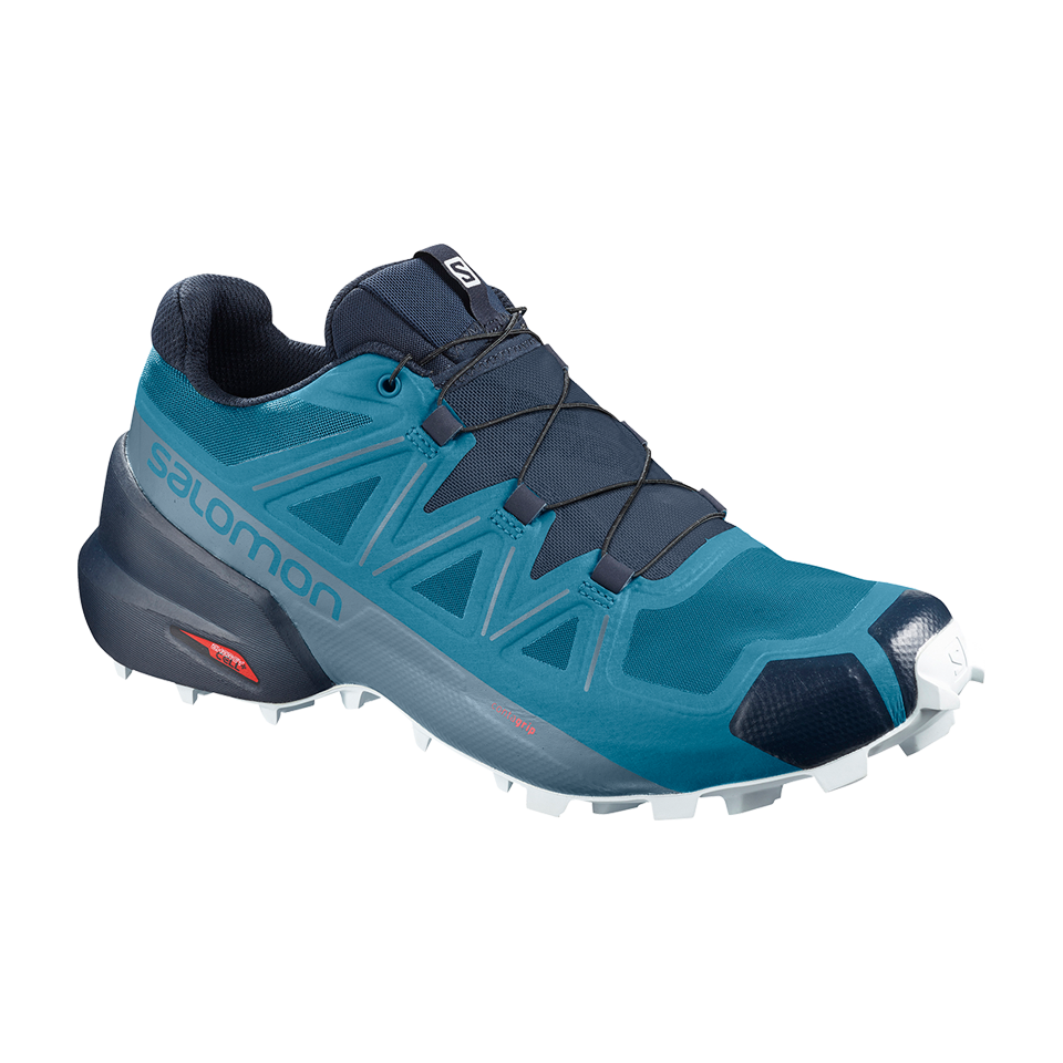 Salomon Men's Speedcross 5 Fjord Blue/Navy Blue