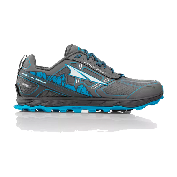 Altra Men's Lone Peak 4 RSM Grey/Blue