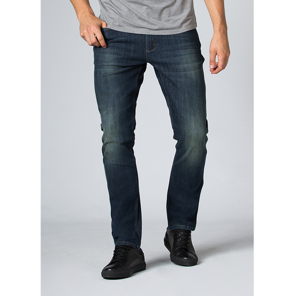 DUER Mens L2X Performance Denim Relaxed Fit Skyline