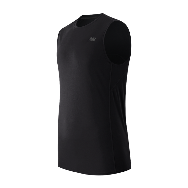 New Balance Men's Accelerate Sleeveless Black
