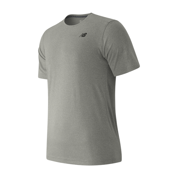 New Balance Men's Short Sleeve Tech Tee Athletic Grey