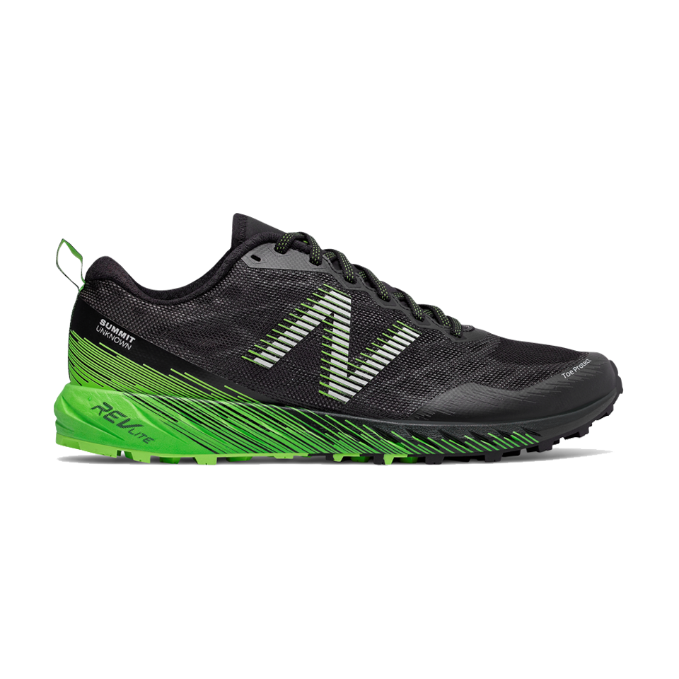 New Balance Mens Summit Unknown 2E Width Black