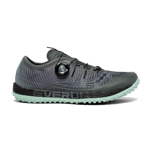 Saucony Women's Switchback ISO Grey/Mint