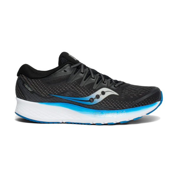 Saucony Men's Ride ISO 2 Black/Blue