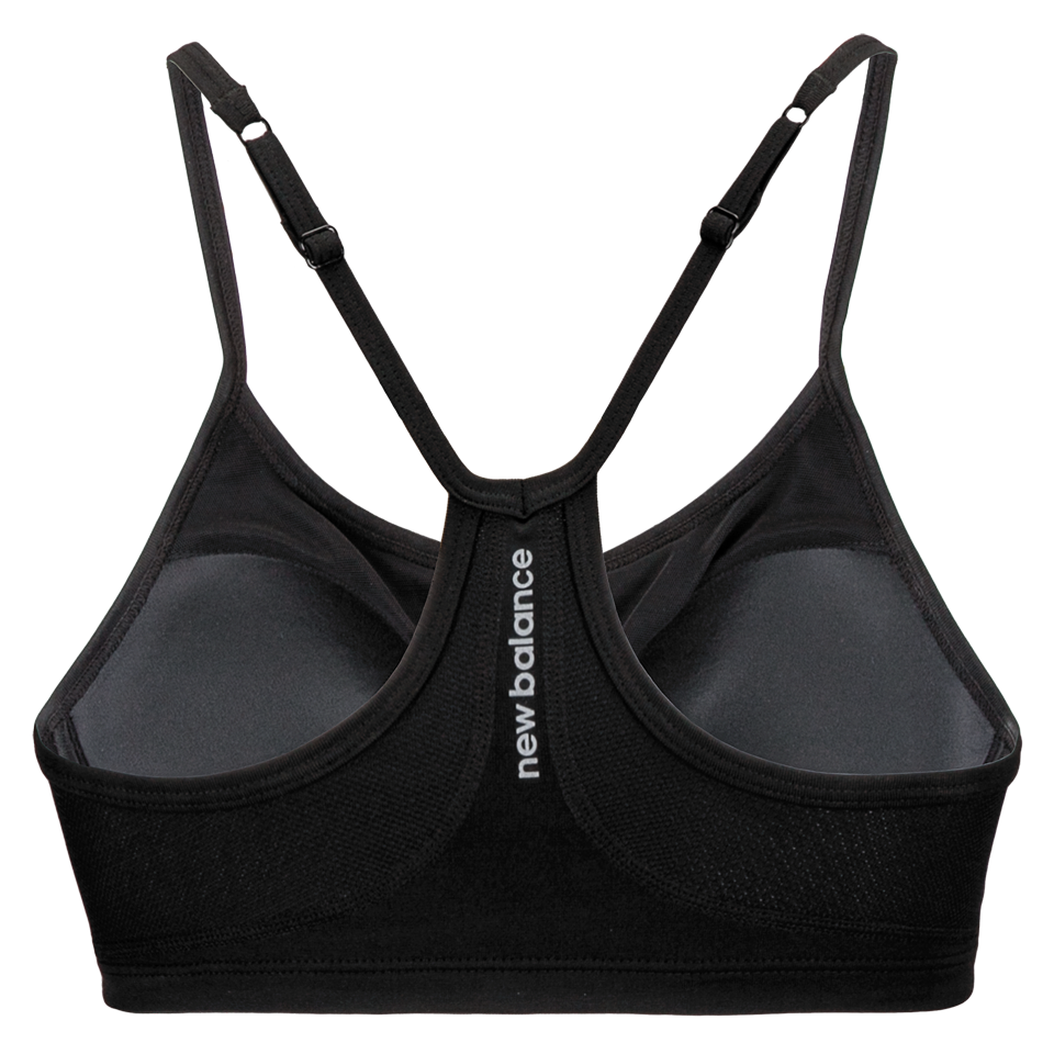New Balance Women's Tenderly Obsessive Bra Black