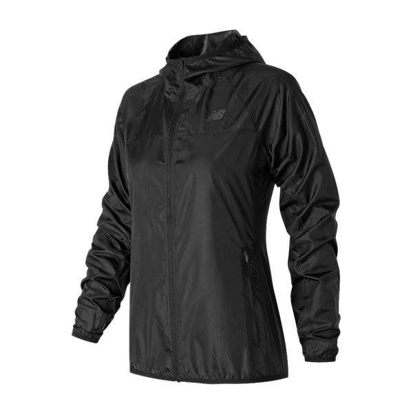 New Balance Women's Windcheater Jacket Black
