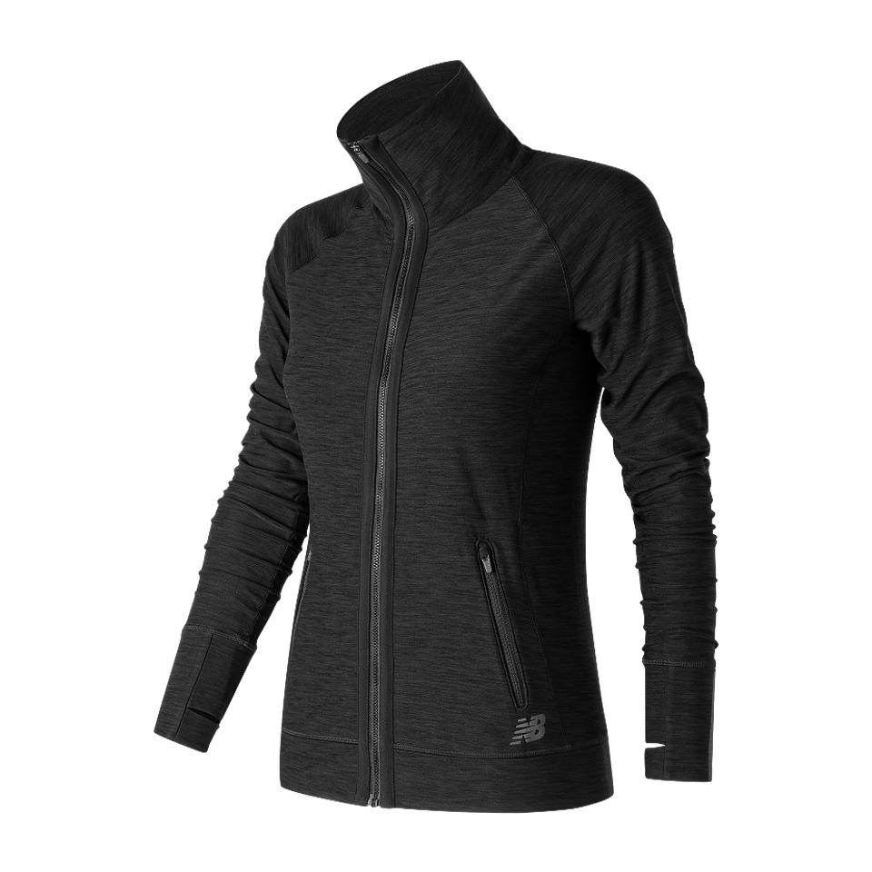 New Balance Women's In Transit Jacket Black