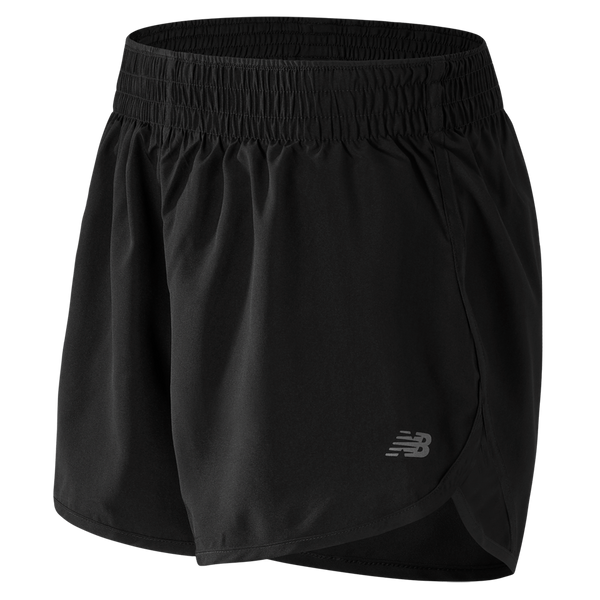 "New Balance Women's Accelerate 5"" Short Black"