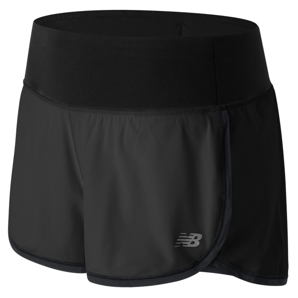 "New Balance Women's 3"" Impact Short Black"