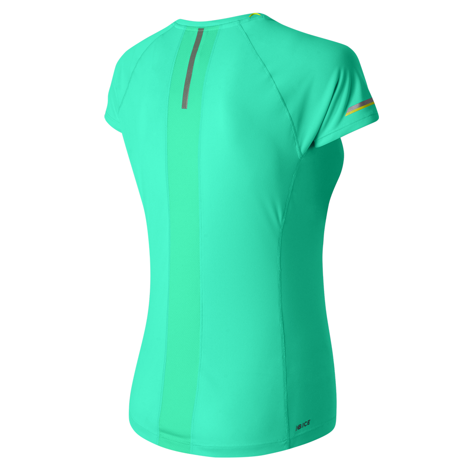 New Balance Women's Ice Short Sleeve Aquarius