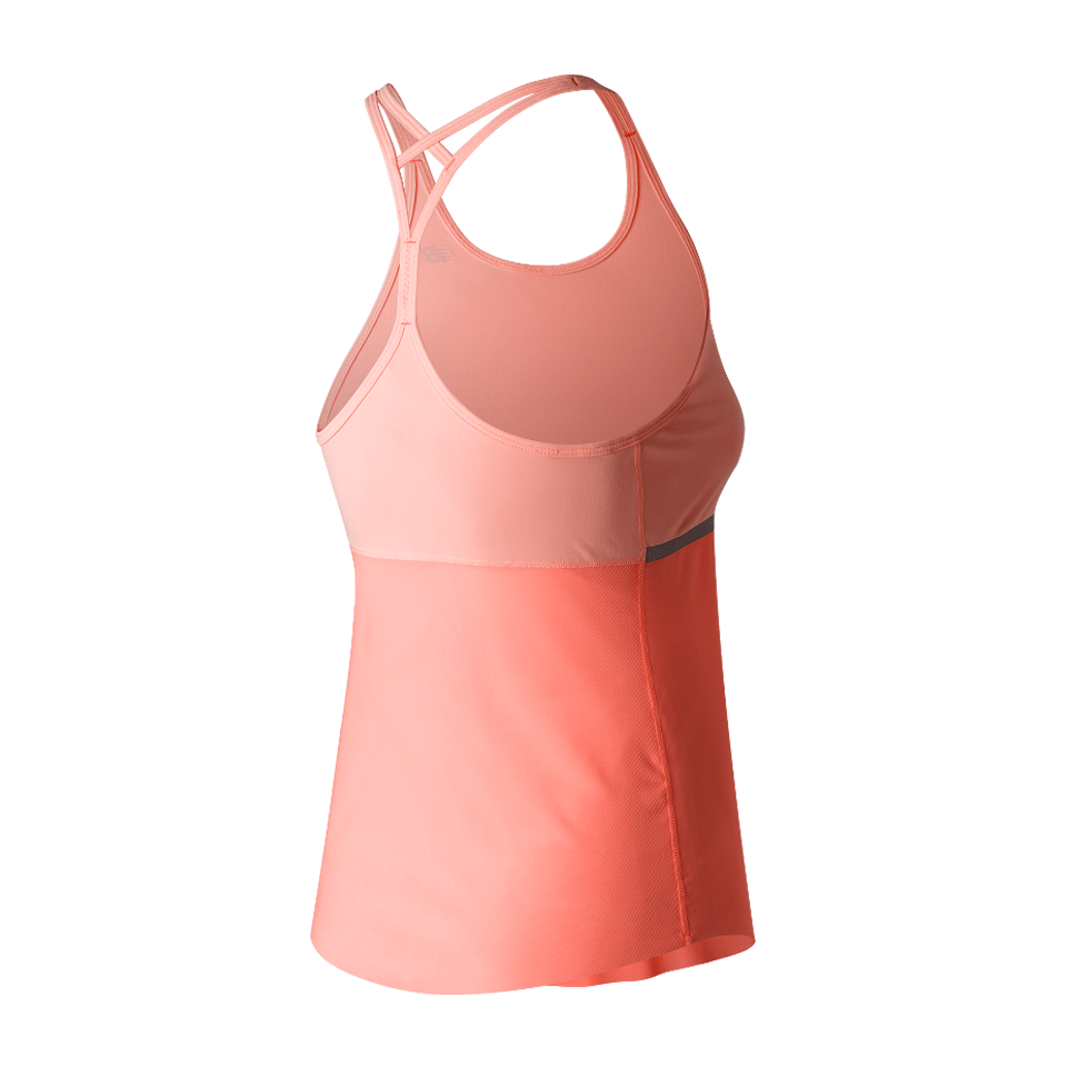 New Balance Women's Ice Hybrid Tank Bleached Sunrise
