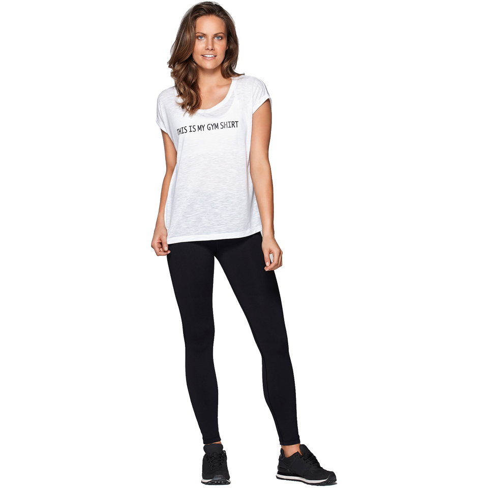 Lorna Jane Women's My Gym Tee White