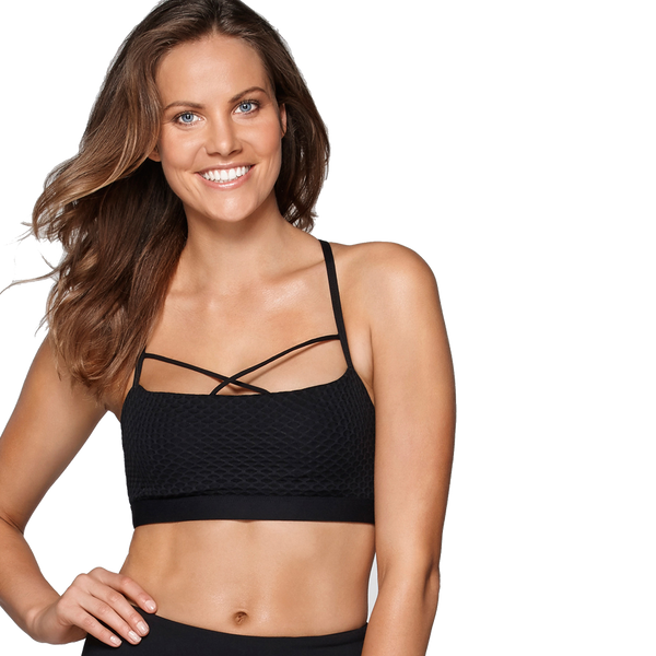 Lorna Jane Women's Wild Dream Bra Black