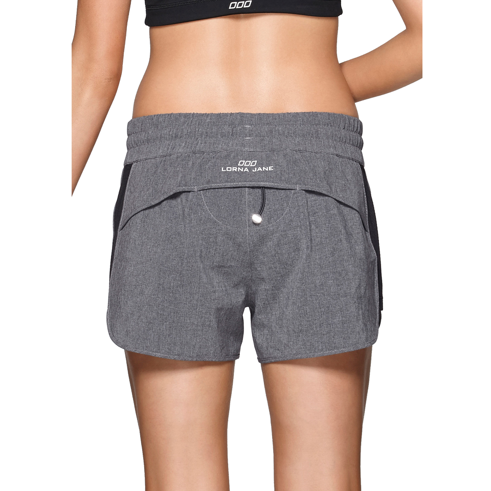 Lorna Jane Women's Triple Play Short Black Marl