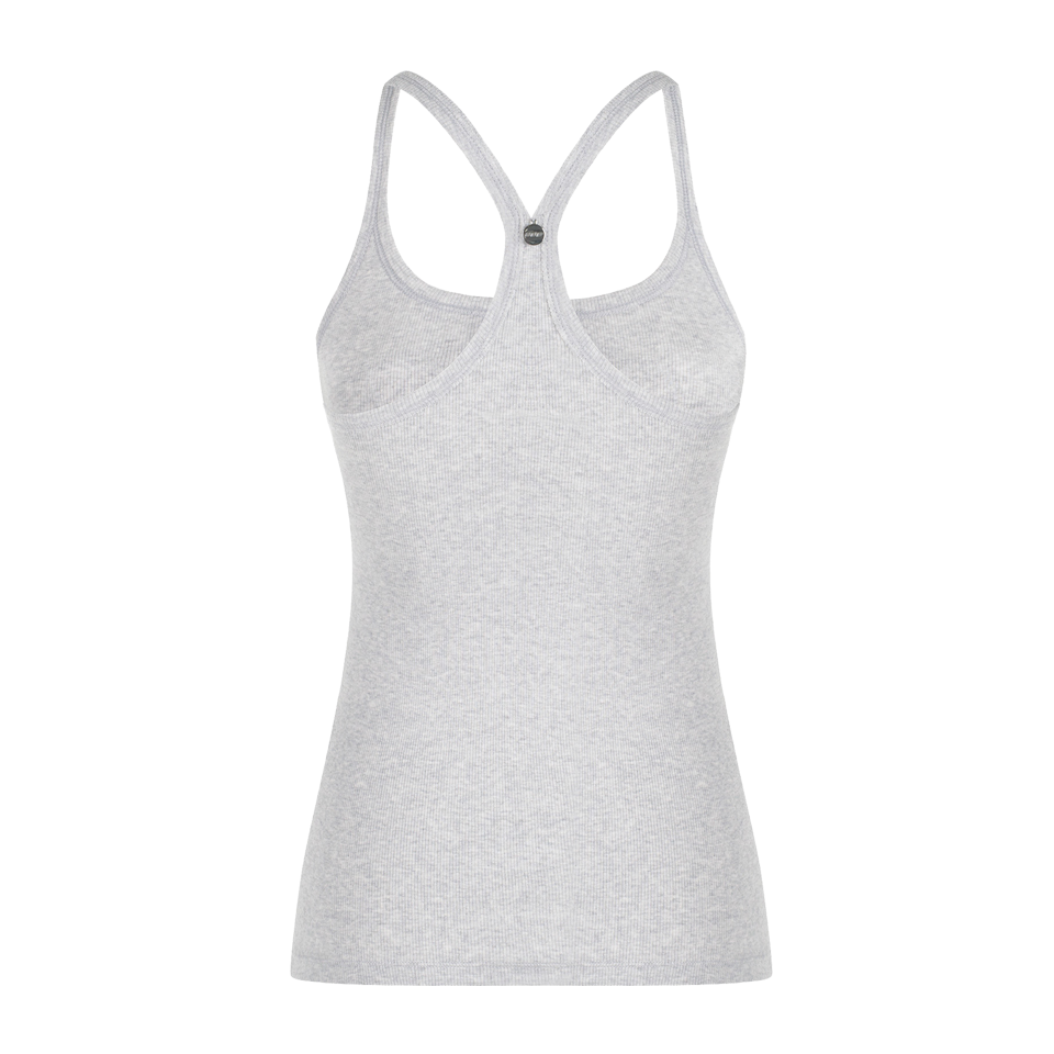 Lorna Jane Women's Trista Tank Light Grey Marl
