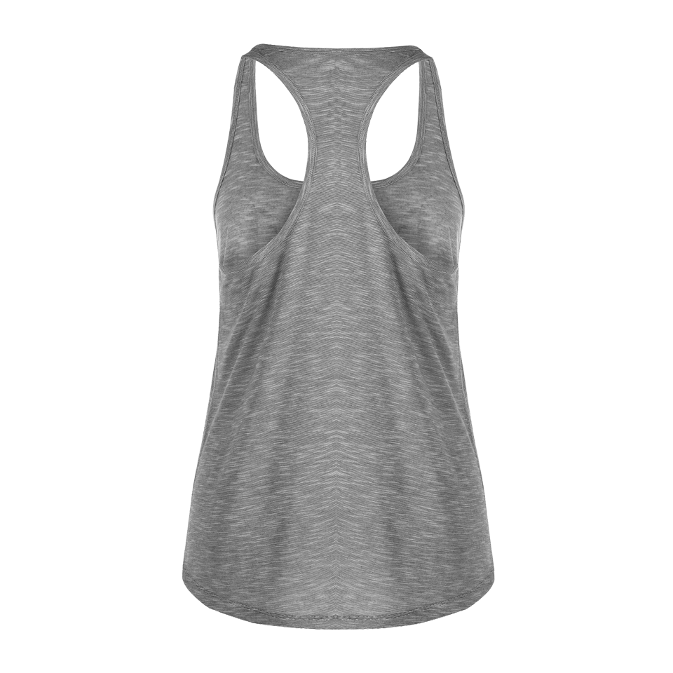Lorna Jane Women's Flow Tank Mid Grey Marl