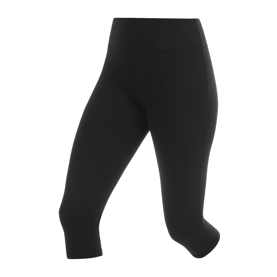 Lorna Jane Women's Essential 3/4 Tight Black